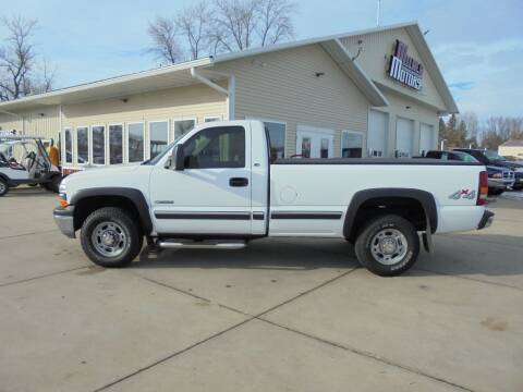 2000 Chevrolet Silverado 2500 for sale at Milaca Motors in Milaca MN