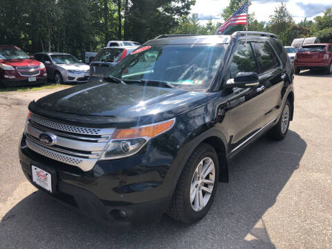 2013 Ford Explorer for sale at Winner's Circle Auto Sales in Tilton NH
