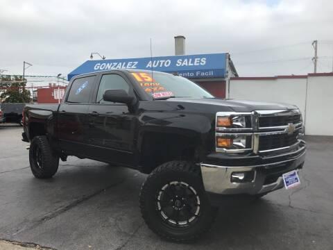 2015 Chevrolet Silverado 1500 for sale at Gonzalez Auto Sales in Joliet IL