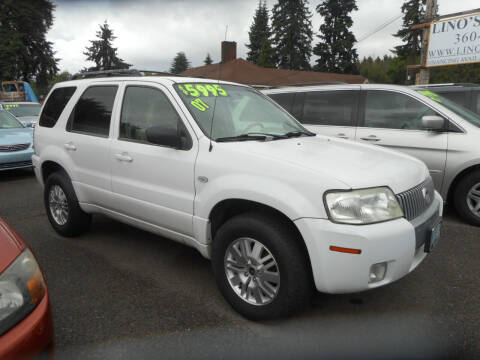 2007 Mercury Mariner for sale at Lino's Autos Inc in Vancouver WA