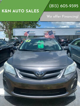 2012 Toyota Corolla for sale at K&N Auto Sales in Tampa FL