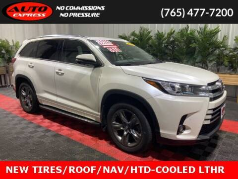 2017 Toyota Highlander for sale at Auto Express in Lafayette IN