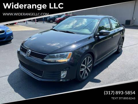 2013 Volkswagen Jetta for sale at Widerange LLC in Greenwood IN