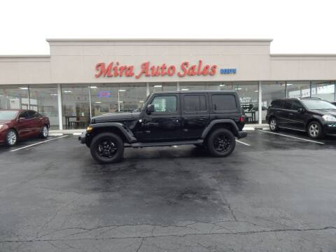 2020 Jeep Wrangler Unlimited for sale at Mira Auto Sales in Dayton OH