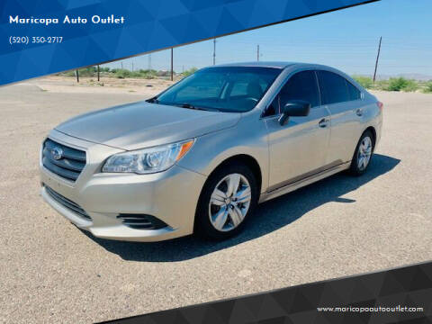 2017 Subaru Legacy for sale at Maricopa Auto Outlet in Maricopa AZ