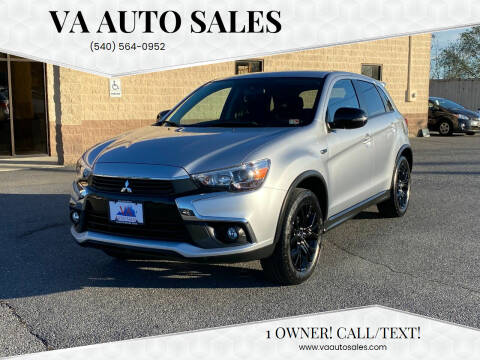 2017 Mitsubishi Outlander Sport for sale at Va Auto Sales in Harrisonburg VA
