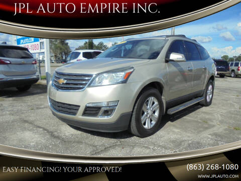 2013 Chevrolet Traverse for sale at JPL AUTO EMPIRE INC. in Auburndale FL