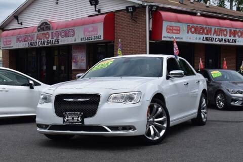 2019 Chrysler 300 for sale at Foreign Auto Imports in Irvington NJ