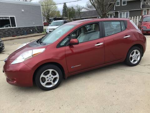 2013 Nissan LEAF for sale at Bam Motors in Dallas Center IA