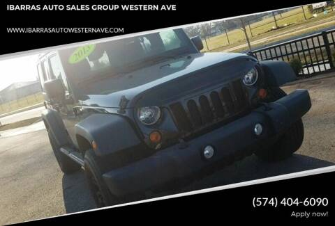 2013 Jeep Wrangler Unlimited for sale at Ibarras Group - IBARRAS AUTO SALES GROUP WESTERN AVE in South Bend IN