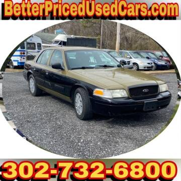 2009 Ford Crown Victoria for sale at Better Priced Used Cars in Frankford DE
