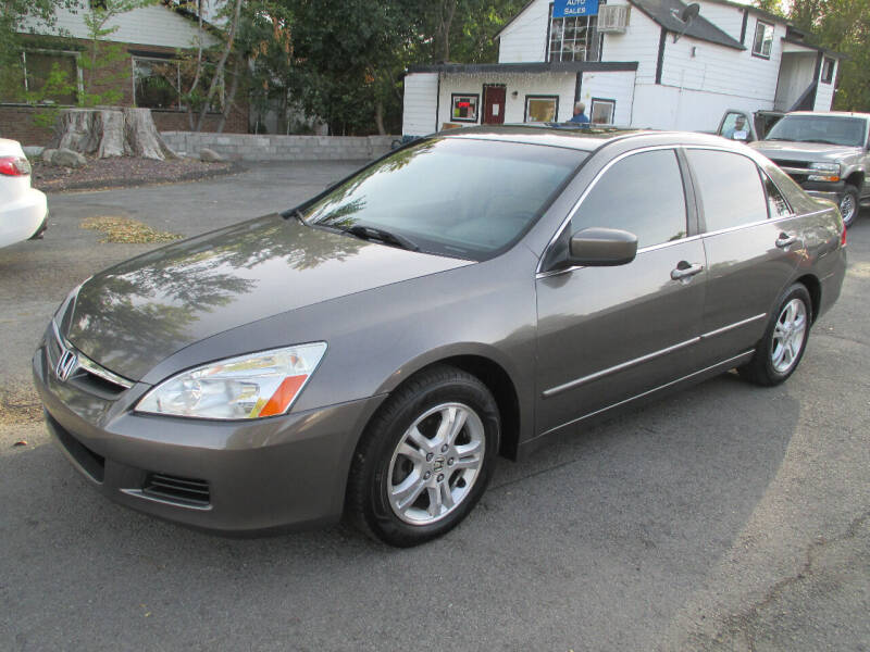 2007 Honda Accord for sale at Summit Auto Sales in Reno NV