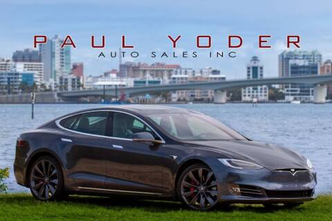 2018 Tesla Model S for sale at PAUL YODER AUTO SALES INC in Sarasota FL