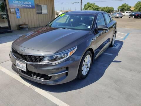 2017 Kia Optima for sale at California Motors in Lodi CA