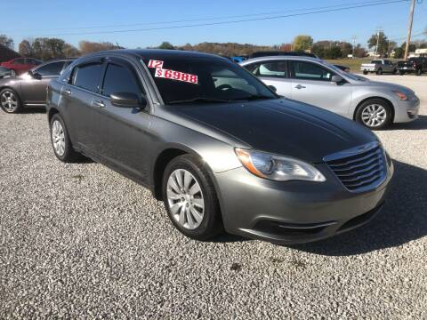 2012 Chrysler 200 for sale at MARLAR AUTO MART SOUTH in Oneida TN