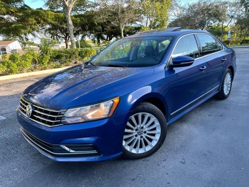 2016 Volkswagen Passat for sale at Citywide Auto Group LLC in Pompano Beach FL