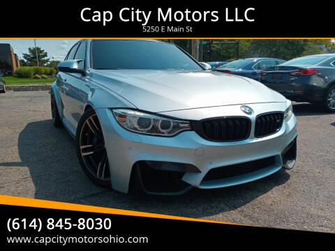 2016 BMW M3 for sale at Cap City Motors LLC in Columbus OH