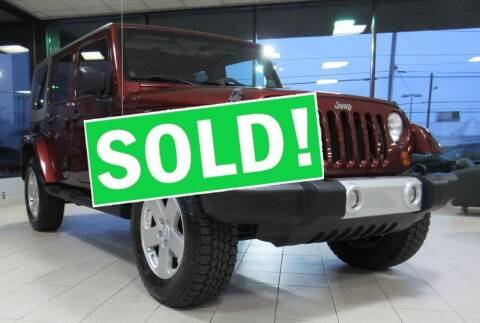 2010 Jeep Wrangler Unlimited for sale at Car Culture in Warren OH