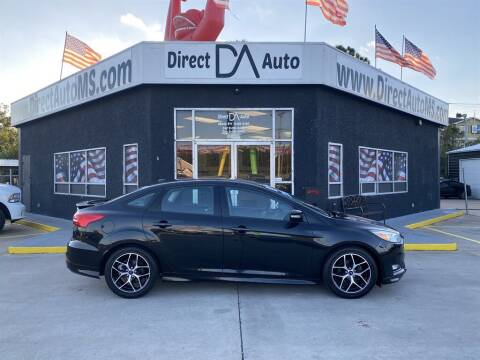 2015 Ford Focus for sale at Direct Auto in D'Iberville MS