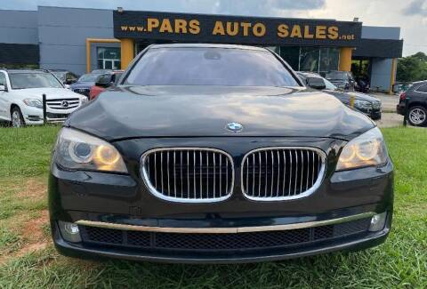 2014 BMW 7 Series for sale at Pars Auto Sales Inc in Stone Mountain GA