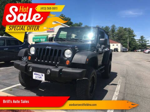 2007 Jeep Wrangler for sale at Brill's Auto Sales in Westfield MA