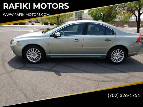 2008 Volvo S80 for sale at RAFIKI MOTORS in Henderson NV