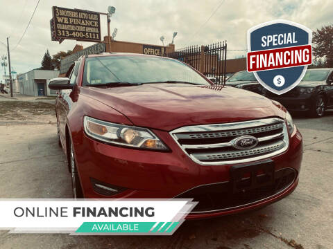 2011 Ford Taurus for sale at 3 Brothers Auto Sales Inc in Detroit MI