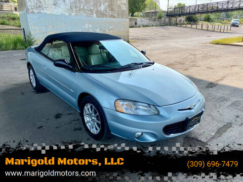 2001 Chrysler Sebring for sale at Marigold Motors, LLC in Pekin IL