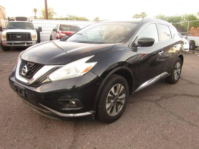 2017 Nissan Murano for sale at Van Buren Motors in Phoenix AZ
