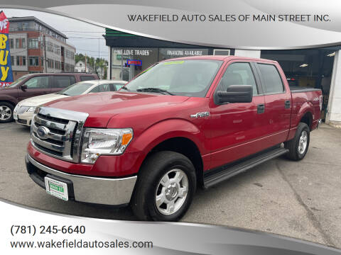 2009 Ford F-150 for sale at Wakefield Auto Sales of Main Street Inc. in Wakefield MA