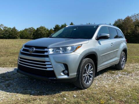 2017 Toyota Highlander for sale at TINKER MOTOR COMPANY in Indianola OK