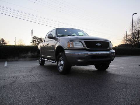 2002 Ford F-150 for sale at Best Import Auto Sales Inc. in Raleigh NC