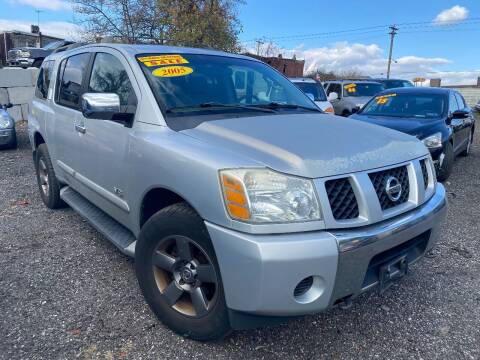 2005 Nissan Armada for sale at Noah Auto Sales in Philadelphia PA