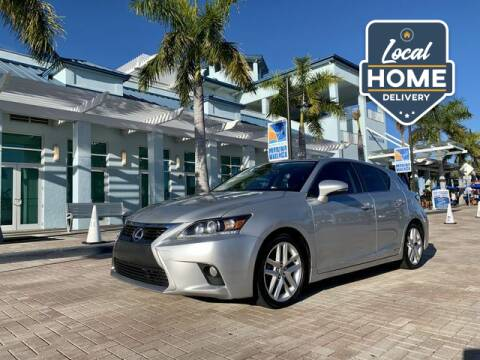 2014 Lexus CT 200h for sale at AUTOSPORT MOTORS in Lake Park FL