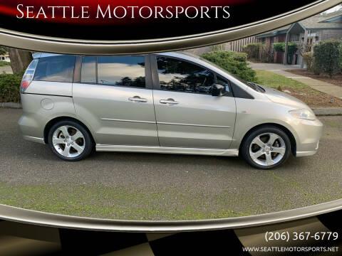 2006 Mazda MAZDA5 for sale at Seattle Motorsports in Shoreline WA