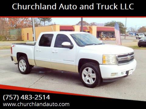 2008 Chevrolet Silverado 1500 for sale at Churchland Auto and Truck LLC in Portsmouth VA