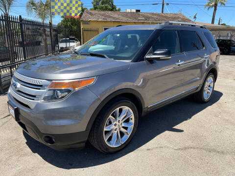 2011 Ford Explorer for sale at JR'S AUTO SALES in Pacoima CA