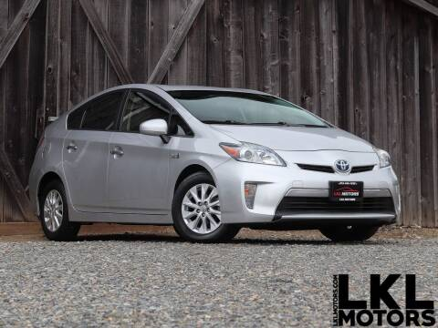 2015 Toyota Prius Plug-in Hybrid for sale at LKL Motors in Puyallup WA
