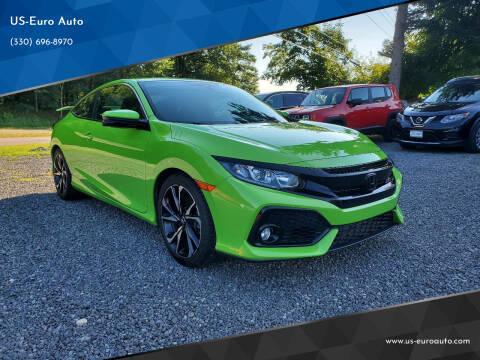 2017 Honda Civic for sale at US-Euro Auto in Burton OH