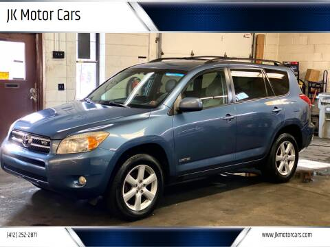 2007 Toyota RAV4 for sale at JK Motor Cars in Pittsburgh PA