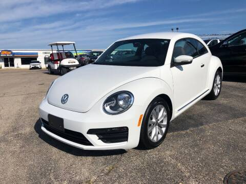 2017 Volkswagen Beetle for sale at Greg's Auto Sales in Poplar Bluff MO