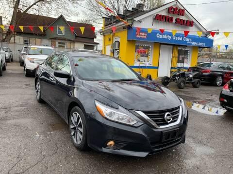 2017 Nissan Altima for sale at C & M Auto Sales in Detroit MI