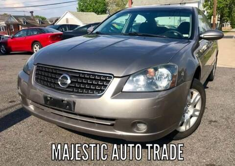 2005 Nissan Altima for sale at Majestic Auto Trade in Easton PA