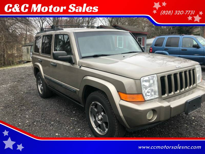 2006 Jeep Commander for sale at C&C Motor Sales LLC in Hudson NC