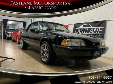 1989 Ford Mustang for sale at Fastlane Motorsports & Classic Cars in Addison IL