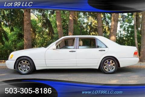 1998 Mercedes-Benz S-Class for sale at LOT 99 LLC in Milwaukie OR