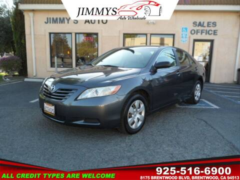 2008 Toyota Camry for sale at JIMMY'S AUTO WHOLESALE in Brentwood CA