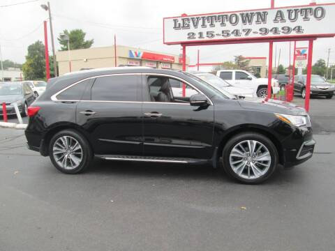 2017 Acura MDX for sale at Levittown Auto in Levittown PA