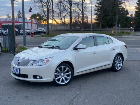 2012 Buick LaCrosse for sale at KAS Auto Sales in Sacramento CA