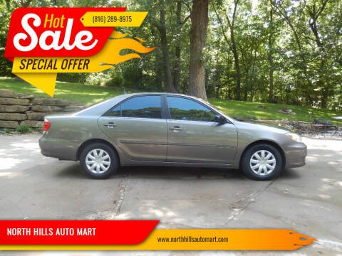 2005 Toyota Camry for sale at NORTH HILLS AUTO MART in Kansas City MO